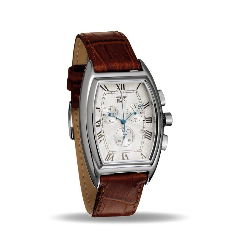 Davis 0030 Analoog Heren Quartz horloge