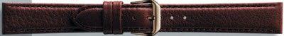 Echt leder bruin 18mm PVK-054