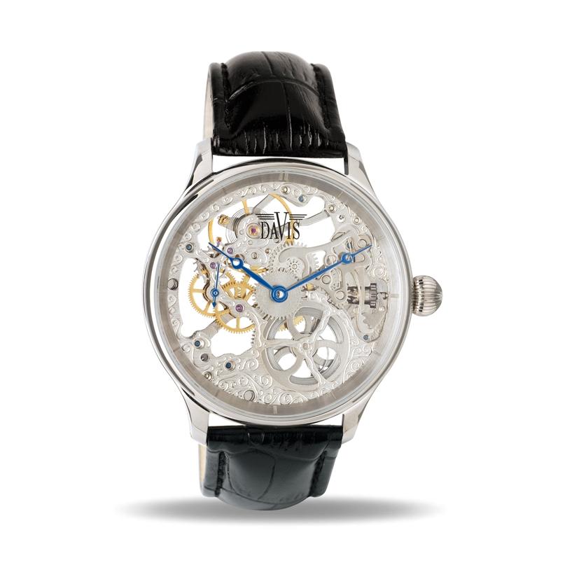 Davis 0890 Analoog Heren Automatisch horloge