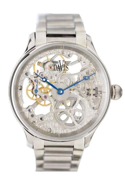 Davis 0892 Analoog Heren Automatisch horloge