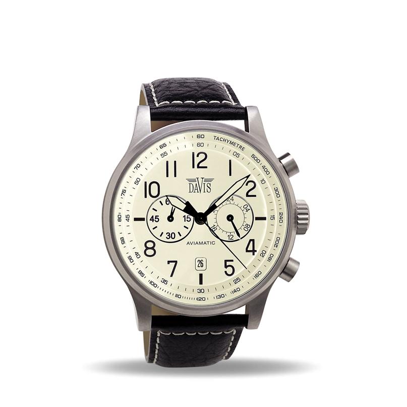 Davis 1022 Analoog Heren Quartz horloge