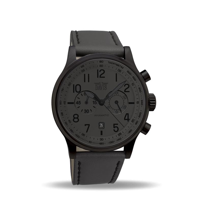 Davis 1029 Analoog Heren Quartz horloge