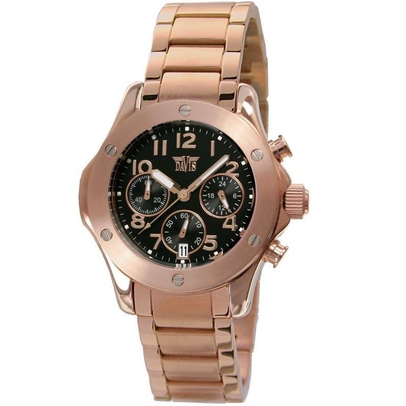 Davis 1348 Analoog Dames Quartz horloge