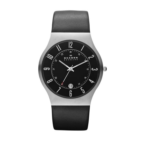 Skagen Grenen 233XXLSLB Analoog Quartz horloge Herenhorloge