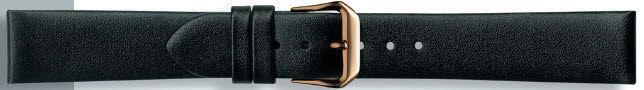 Echt leder zwart 10mm PVK-241