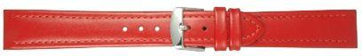 Echt leder rood 20mm PVK-283