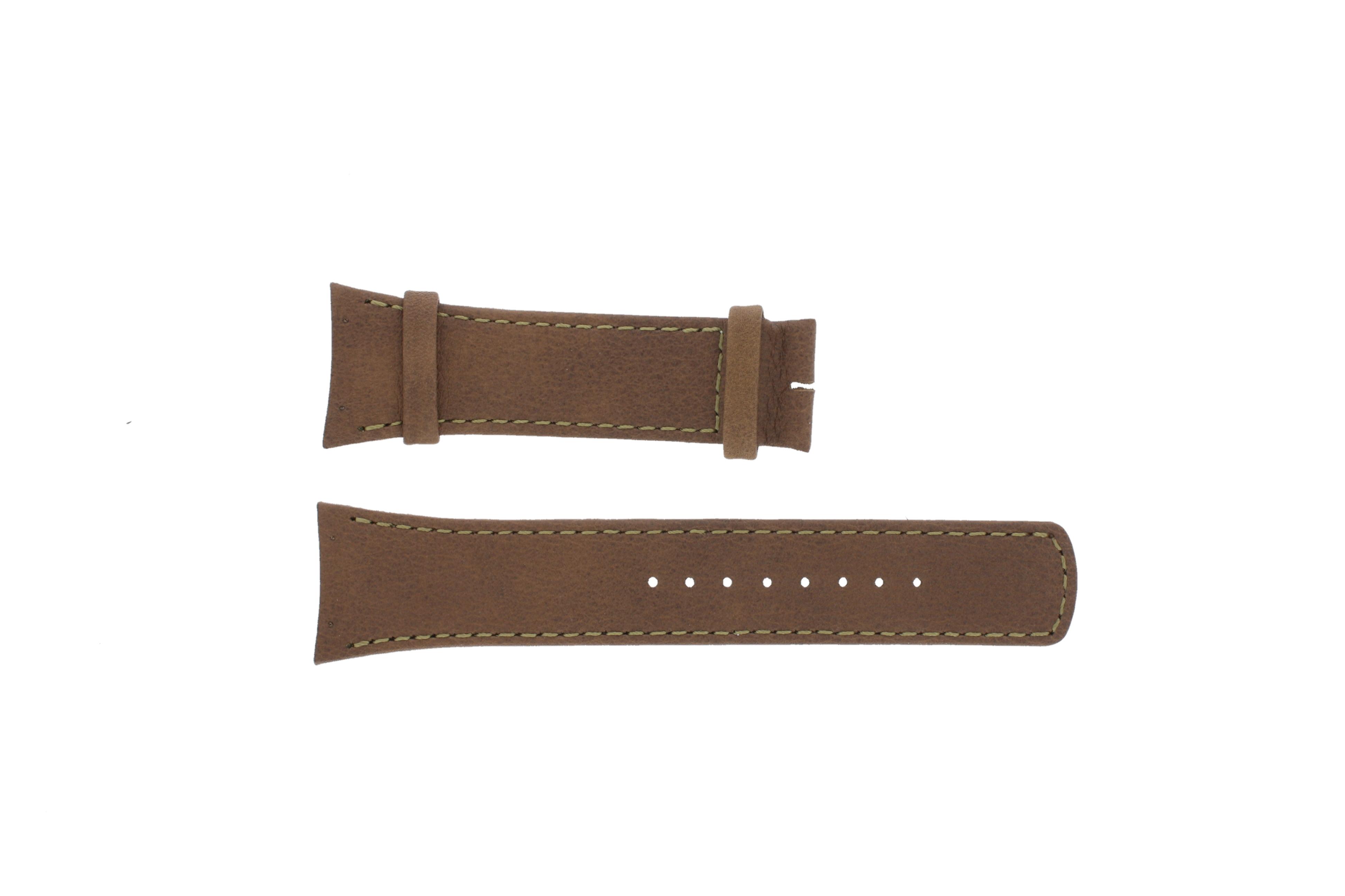 Boccia horlogeband 3165-01 / BO811 X406U25 Leder Beige + standaard stiksel