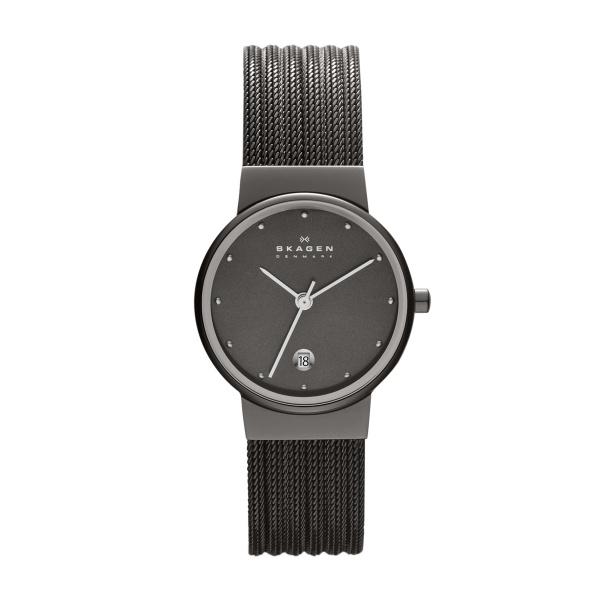 Skagen Ancher 355SMM1 Analoog Dames Quartz horloge