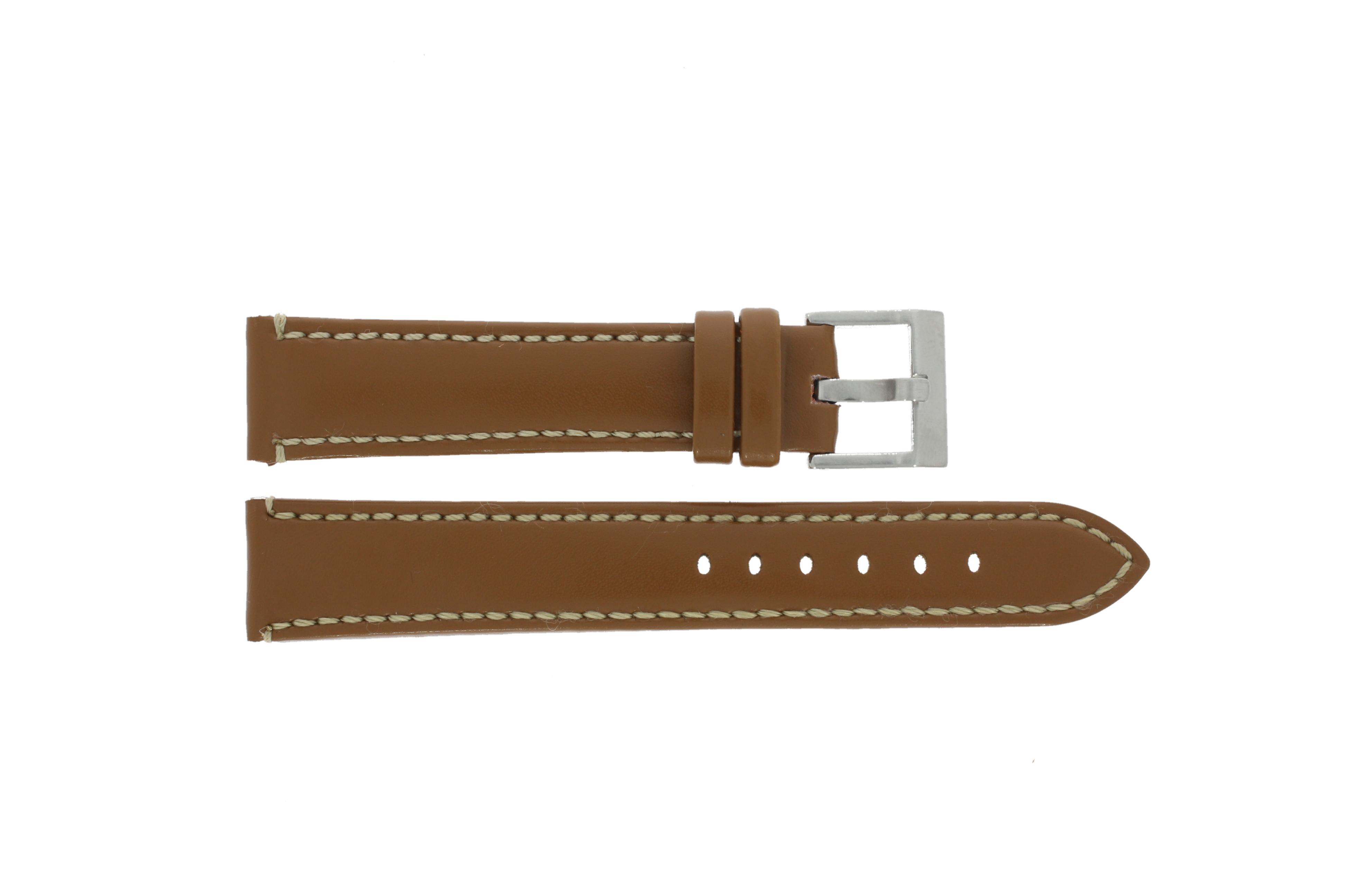 Echt leder horlogeband 20mm 373.03