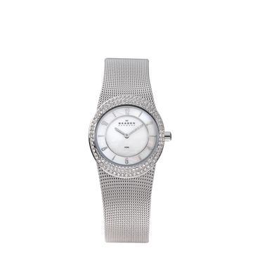 Skagen horlogeband 566XSSS Staal Zilver