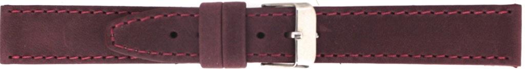 Horlogeband 815.04.20 Leder Bordeaux 20mm + standaard stiksel