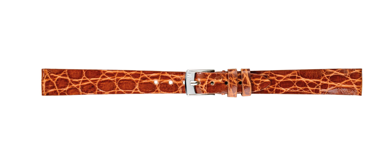 Morellato horlogeband Classico D2212052041CR08 / PMD041CLSCRO08 Krokodillenleer Bruin 8mm