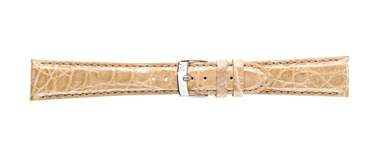 Morellato horlogeband Amadeus G.Croc Glans U0518052026CR22 / PMU026AMADEC22 Krokodillenleer Ivoor 22mm + standaard stiksel
