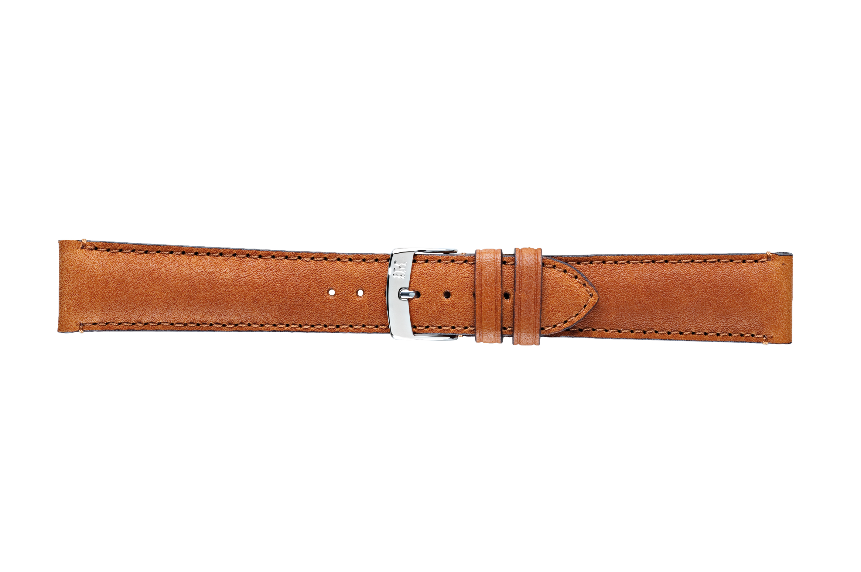 Morellato horlogeband Duccio U3884A61044CR22 / PMU044DUCCIO22 Glad leder Bruin 22mm + standaard stiksel