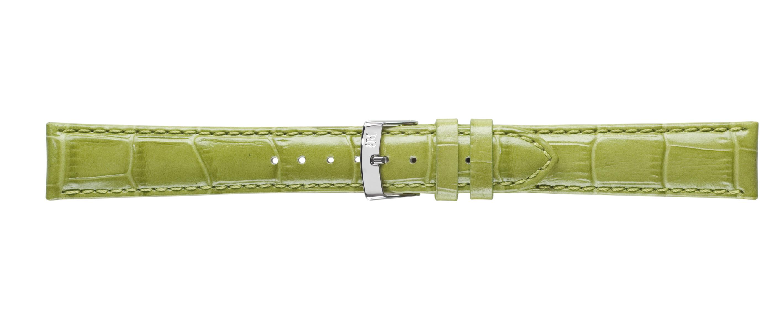 Morellato horlogeband Samba X2704656077CR22 / PMX077SAMBA22 Croco leder Groen 22mm + standaard stiksel