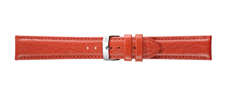 Morellato horlogeband Fresbee X4335713085CR22 / PMX085FRESBEI22 Leder Rood 22mm + standaard stiksel
