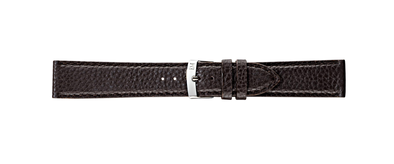 Morellato horlogeband Mokka X4596B61032CR22 / PMX032MOKKA22 Leder Donkerbruin 22mm + standaard stiksel