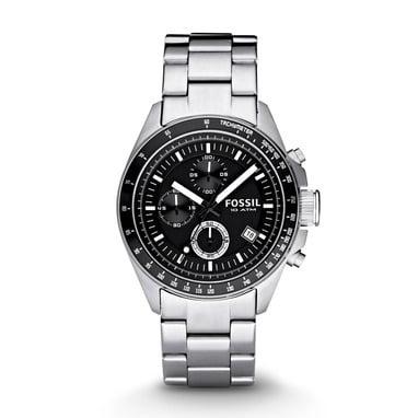 Fossil CH2600 Analoog Heren Quartz horloge