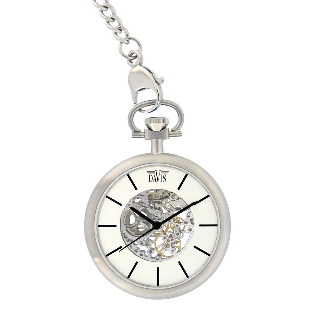 Davis 1667 Analoog Heren Automatisch horloge
