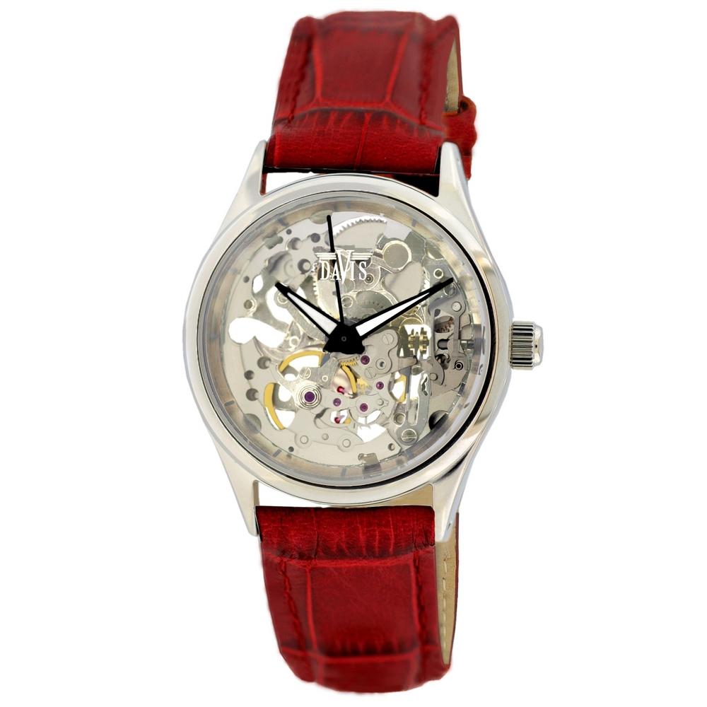 Davis 1682 Analoog Dames Automatisch horloge
