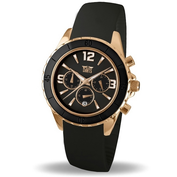 Davis 1875 Analoog Dames Quartz horloge