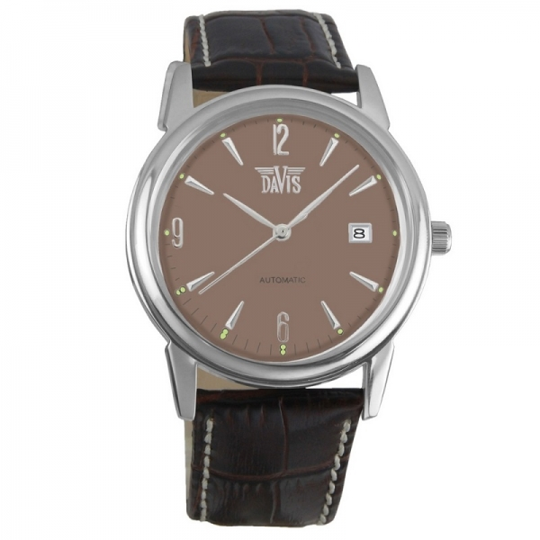Davis 1901 Analoog Heren Automatisch horloge