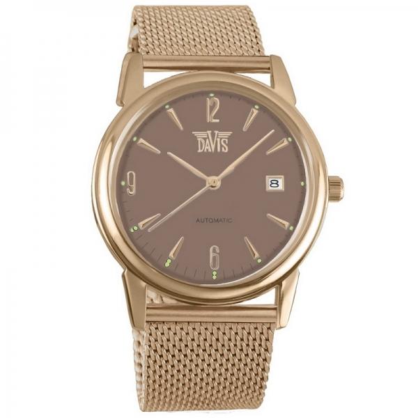 Davis 1906M Analoog Heren Automatisch horloge