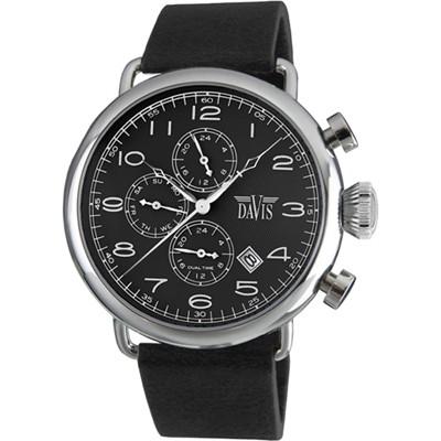 Davis 1930B Analoog Heren Quartz horloge