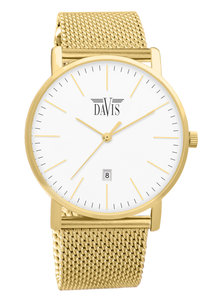 Davis 2044 Analoog Dames Quartz horloge