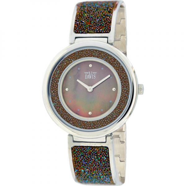 Davis 2082 Analoog Dames Quartz horloge