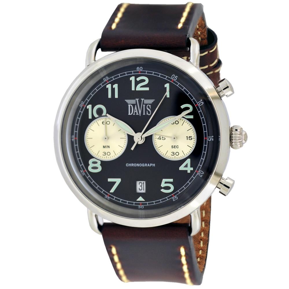 Davis 2120 Thomas Analoog Heren Quartz Horloge