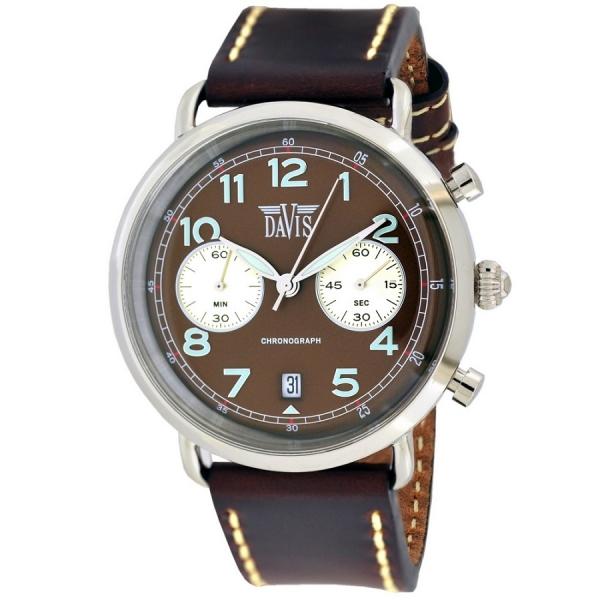 Davis 2121 Analoog Heren Quartz horloge