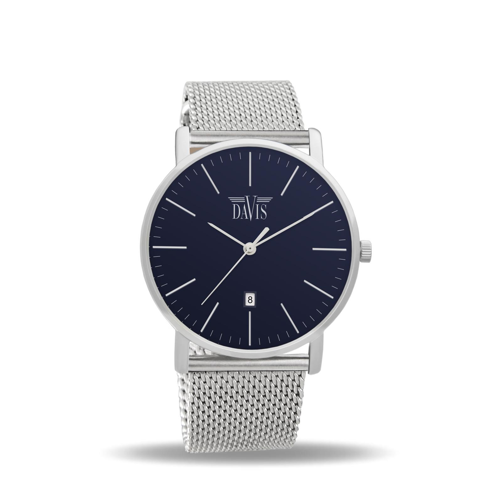 Davis 2140 Charles Analoog Heren Quartz Horloge