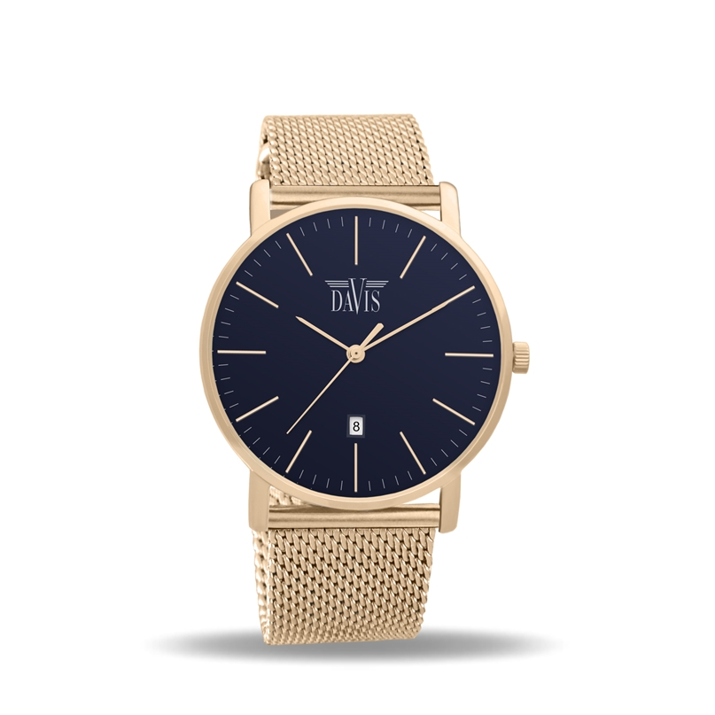 Davis 2142 Charles Analoog Dames Quartz Horloge