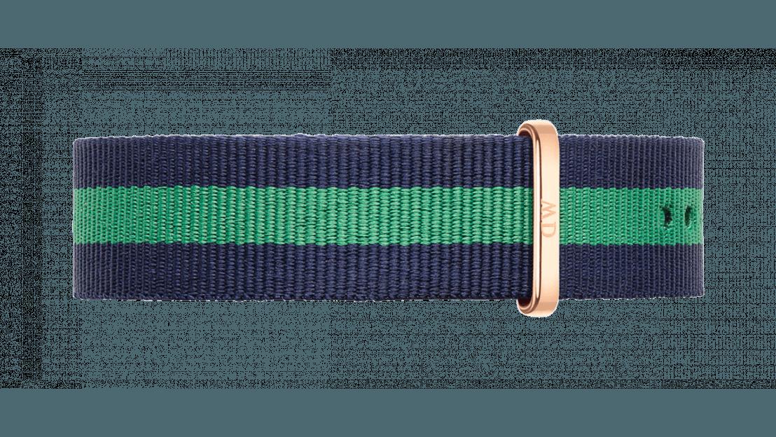 Daniel Wellington horlogeband DW00200005 Classic Warwick Textiel Multicolor 20mm