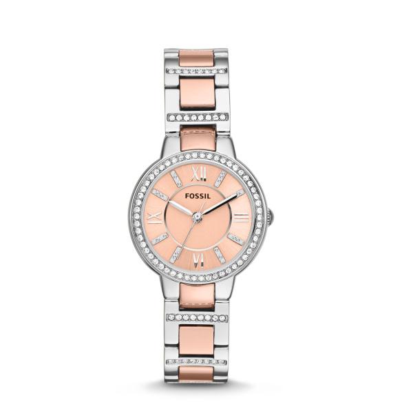Fossil Virginia ES3405 Analoog Quartz horloge Dameshorloge