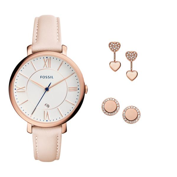 Fossil ES4202SET Analoog Dames Quartz horloge