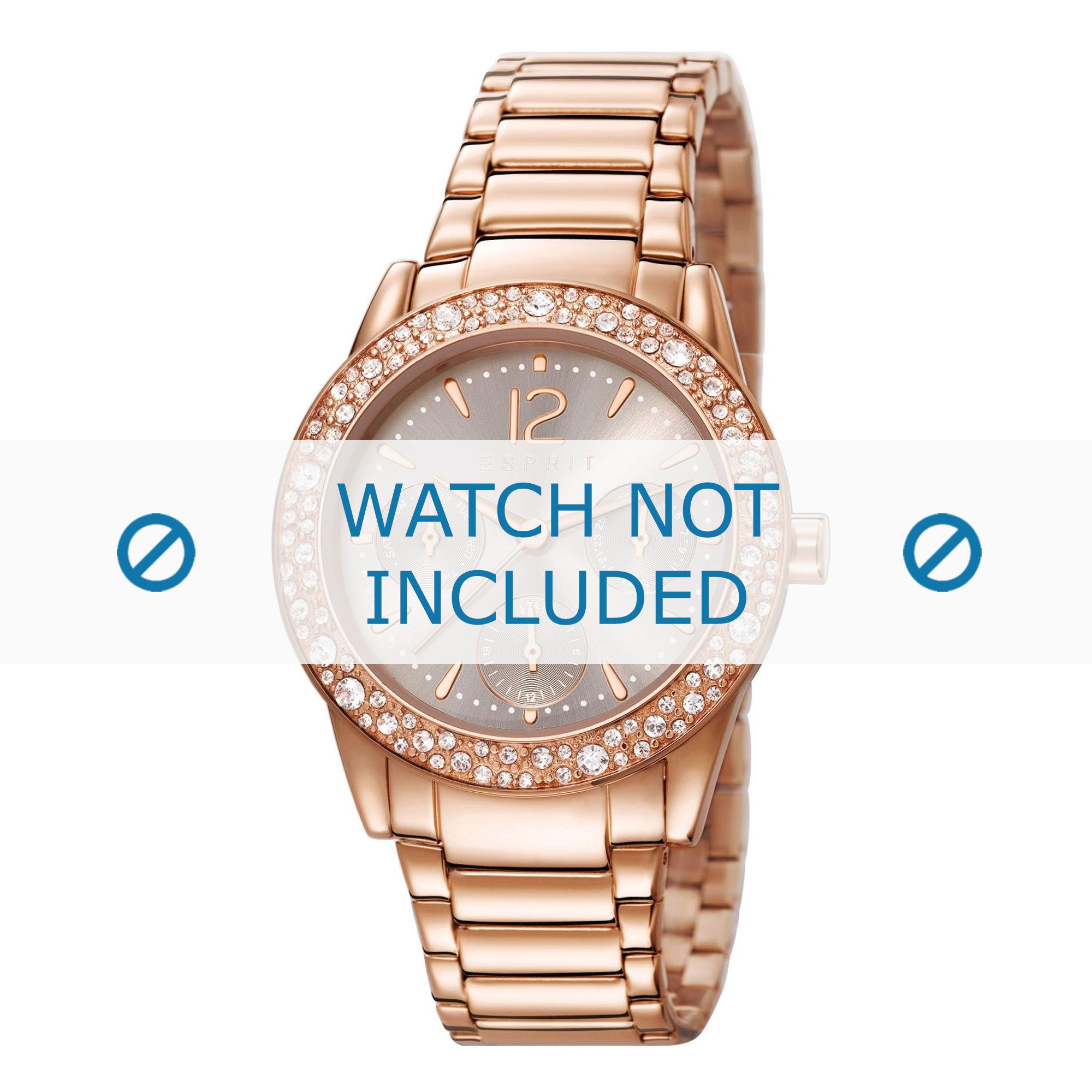 Esprit horlogeband ES107152-002 Staal Rosé