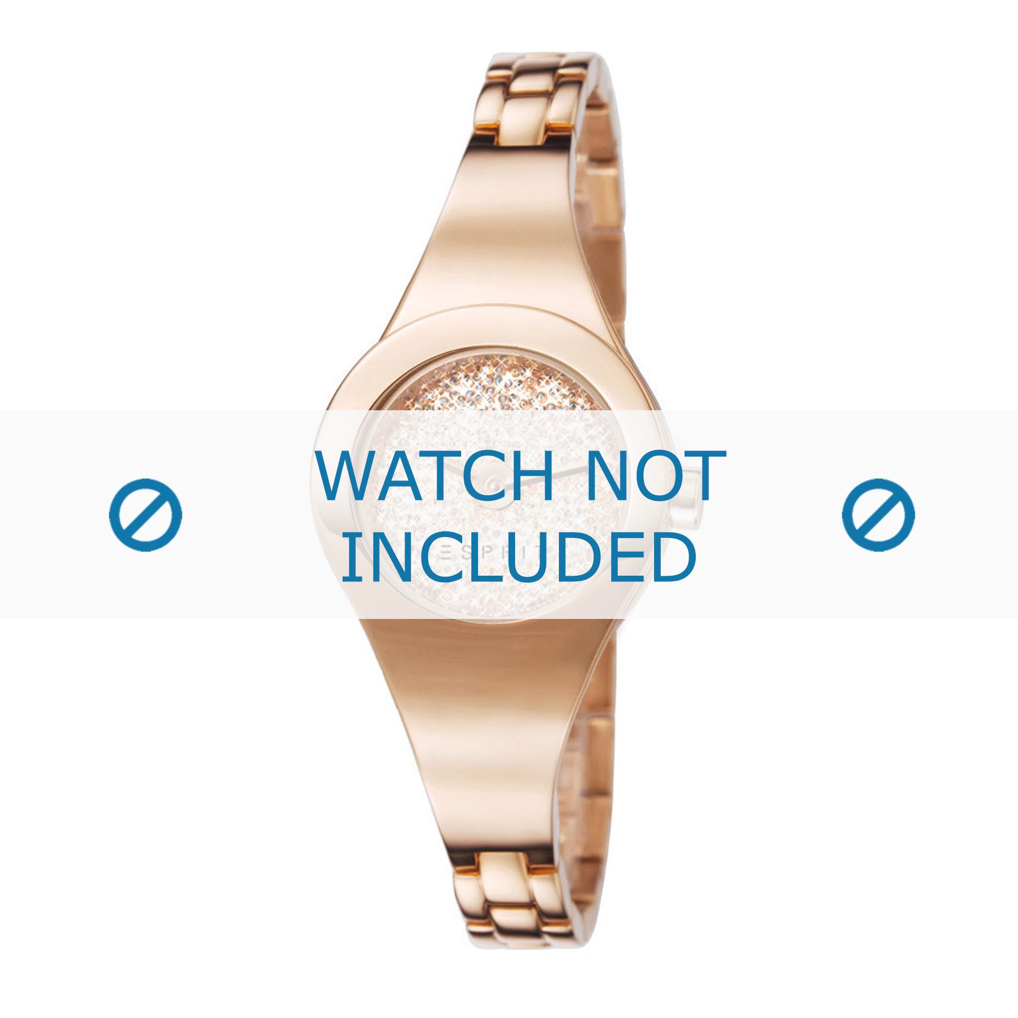 Esprit horlogeband ES107252-003 Staal Rosé