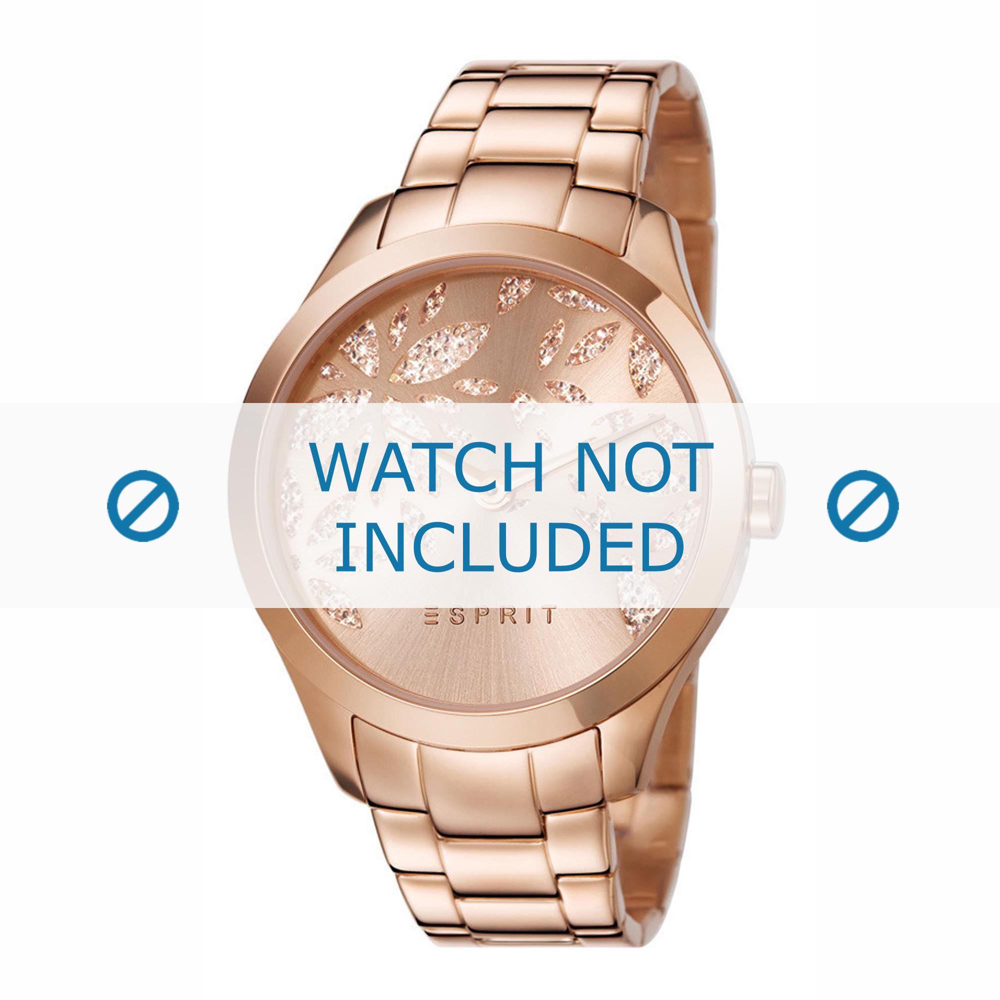 Esprit horlogeband ES107282-002 Staal Rosé