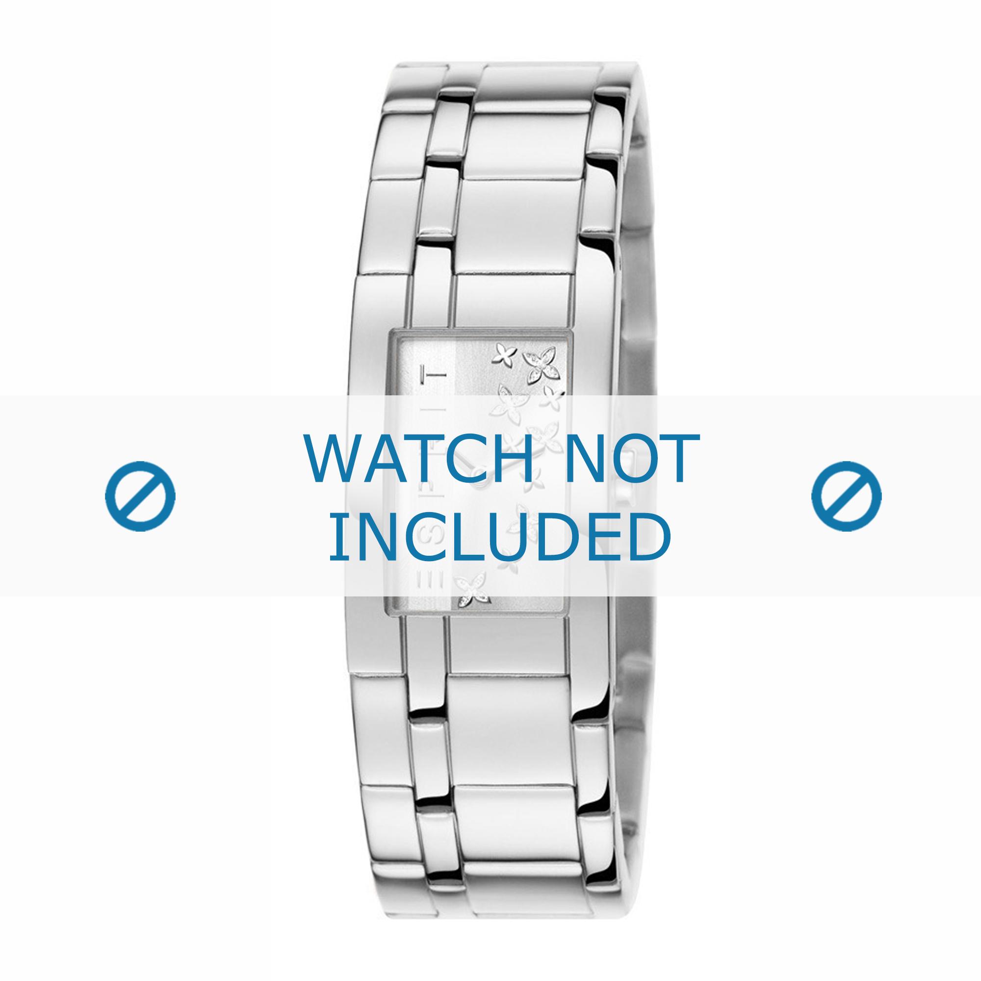 Esprit horlogeband ES107292-001 Staal Zilver