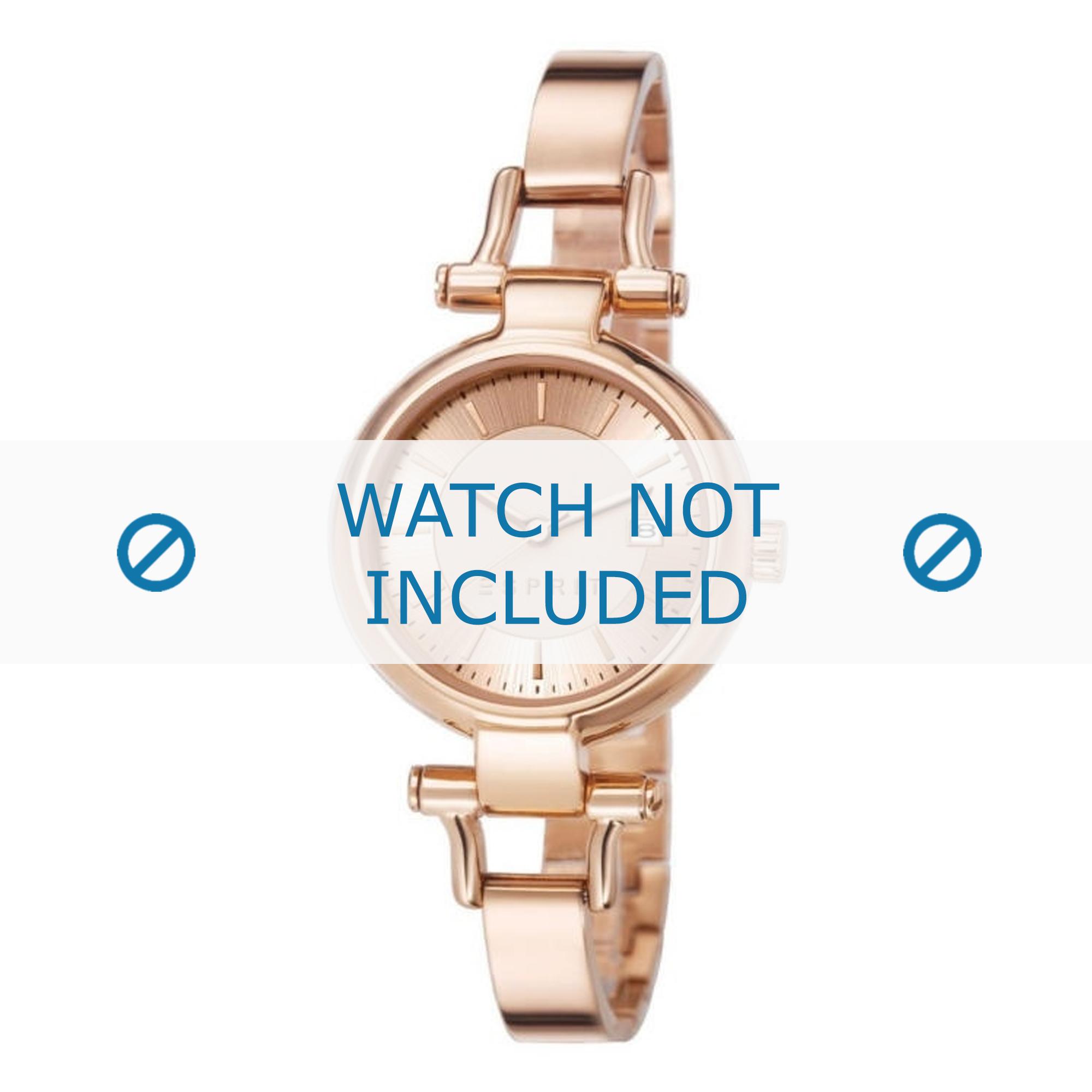 Esprit horlogeband ES107632-006 Staal Rosé