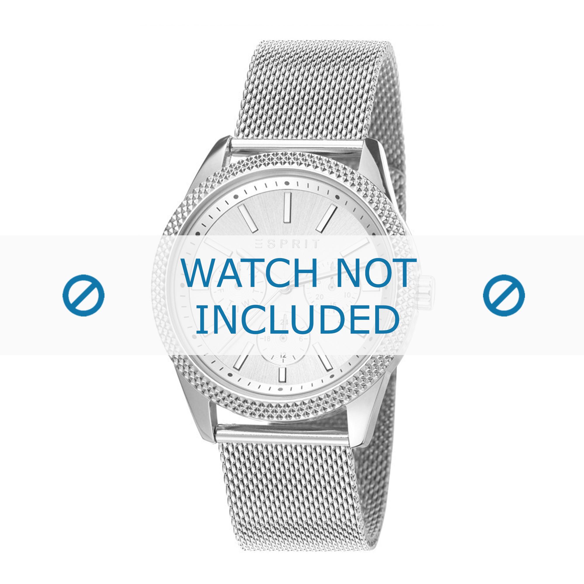 Esprit horlogeband ES107732-004 Staal Zilver