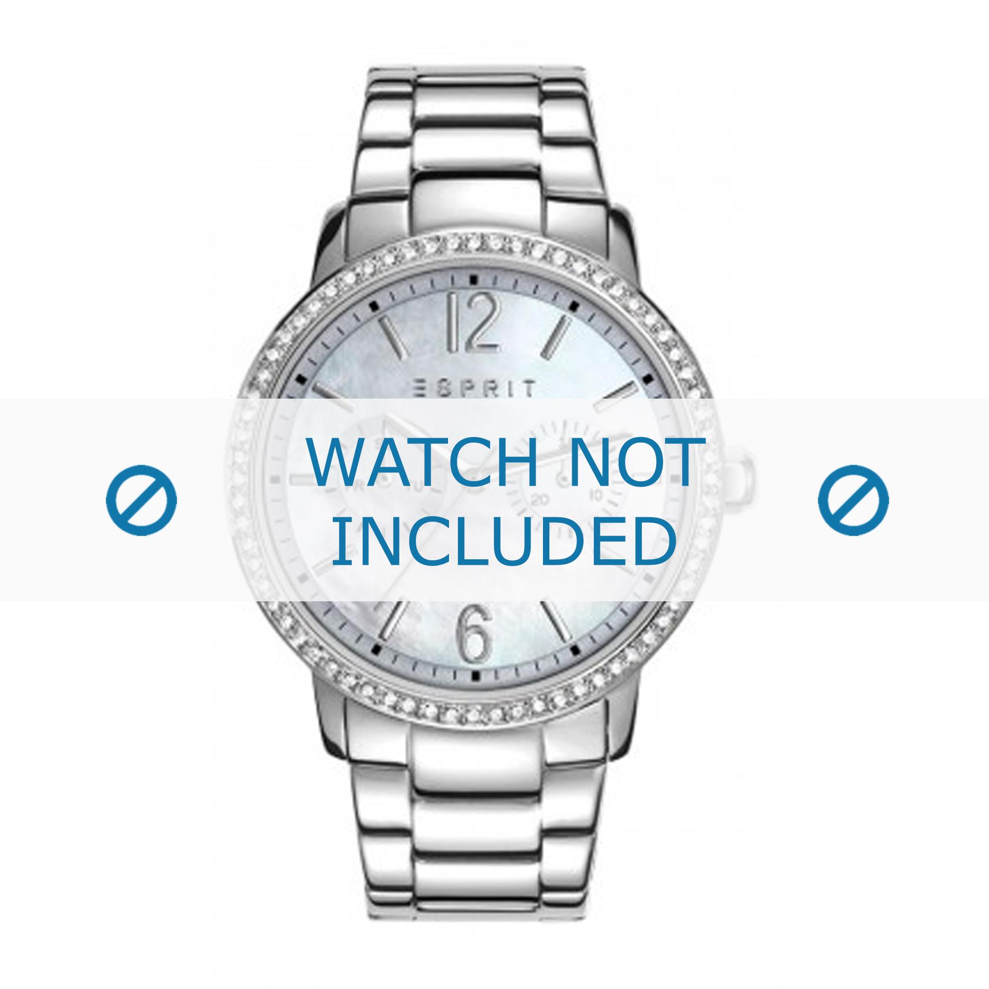 Esprit horlogeband ES108092-001 Staal Zilver