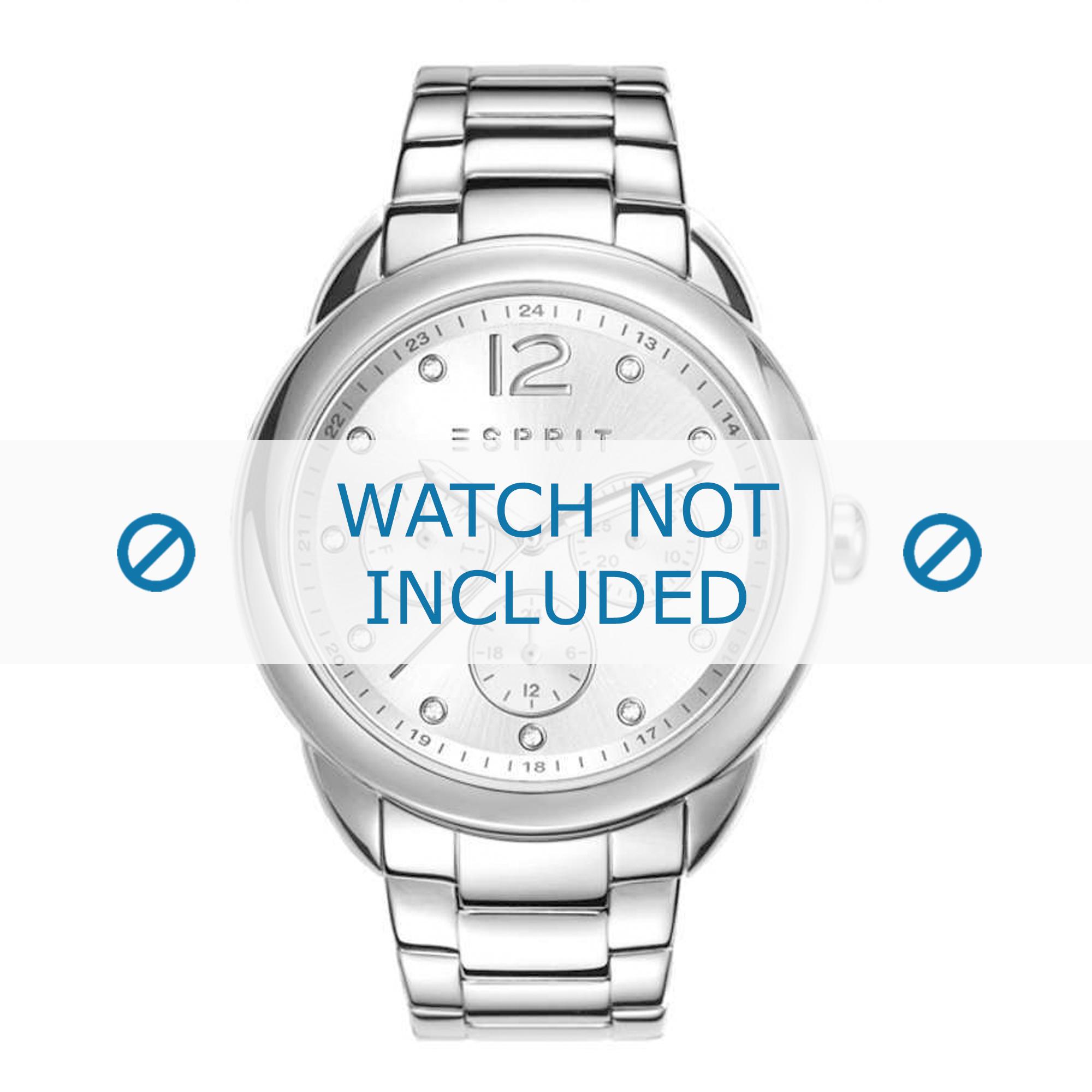Esprit horlogeband ES108102-001 Staal Zilver