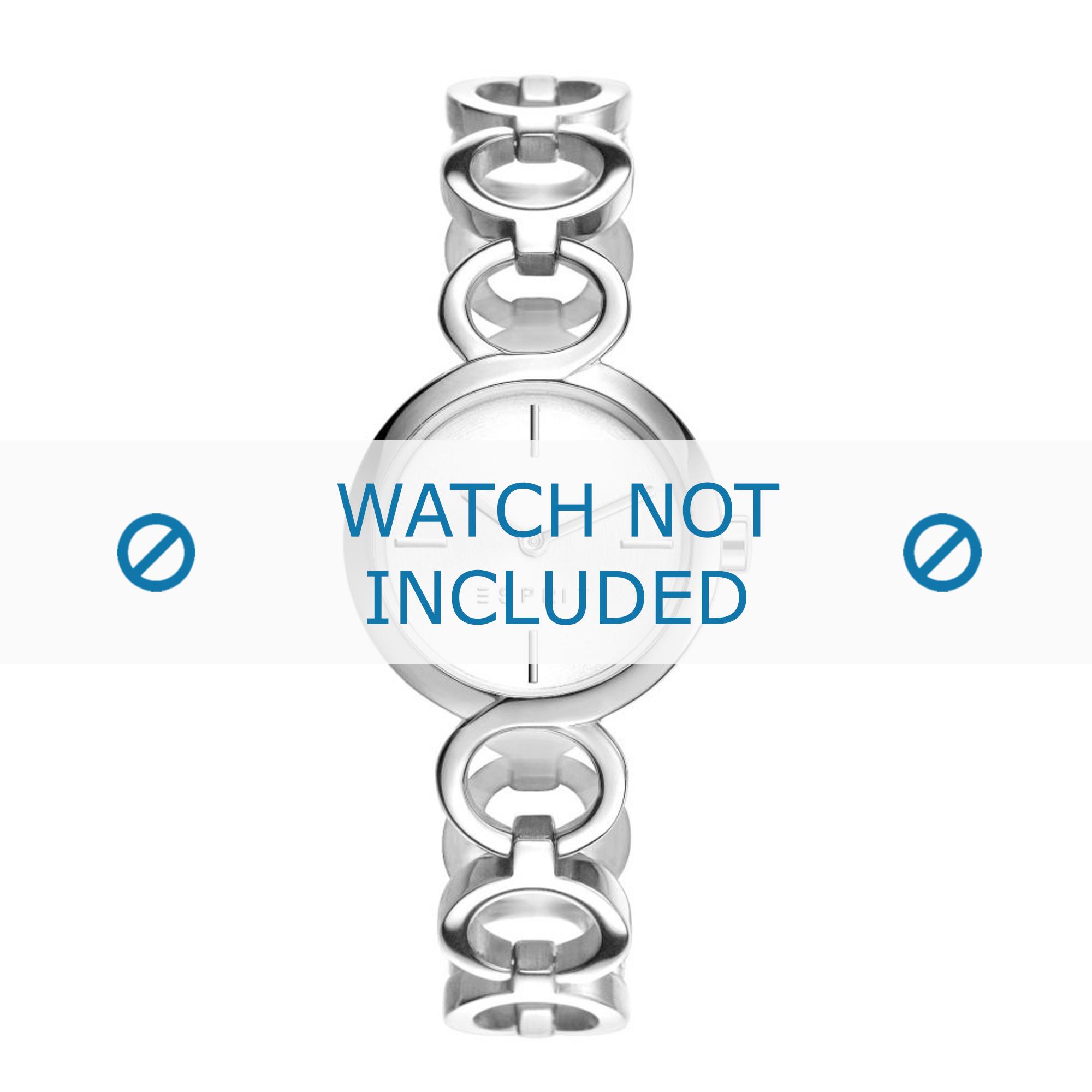 Esprit horlogeband ES108212-001 Staal Zilver