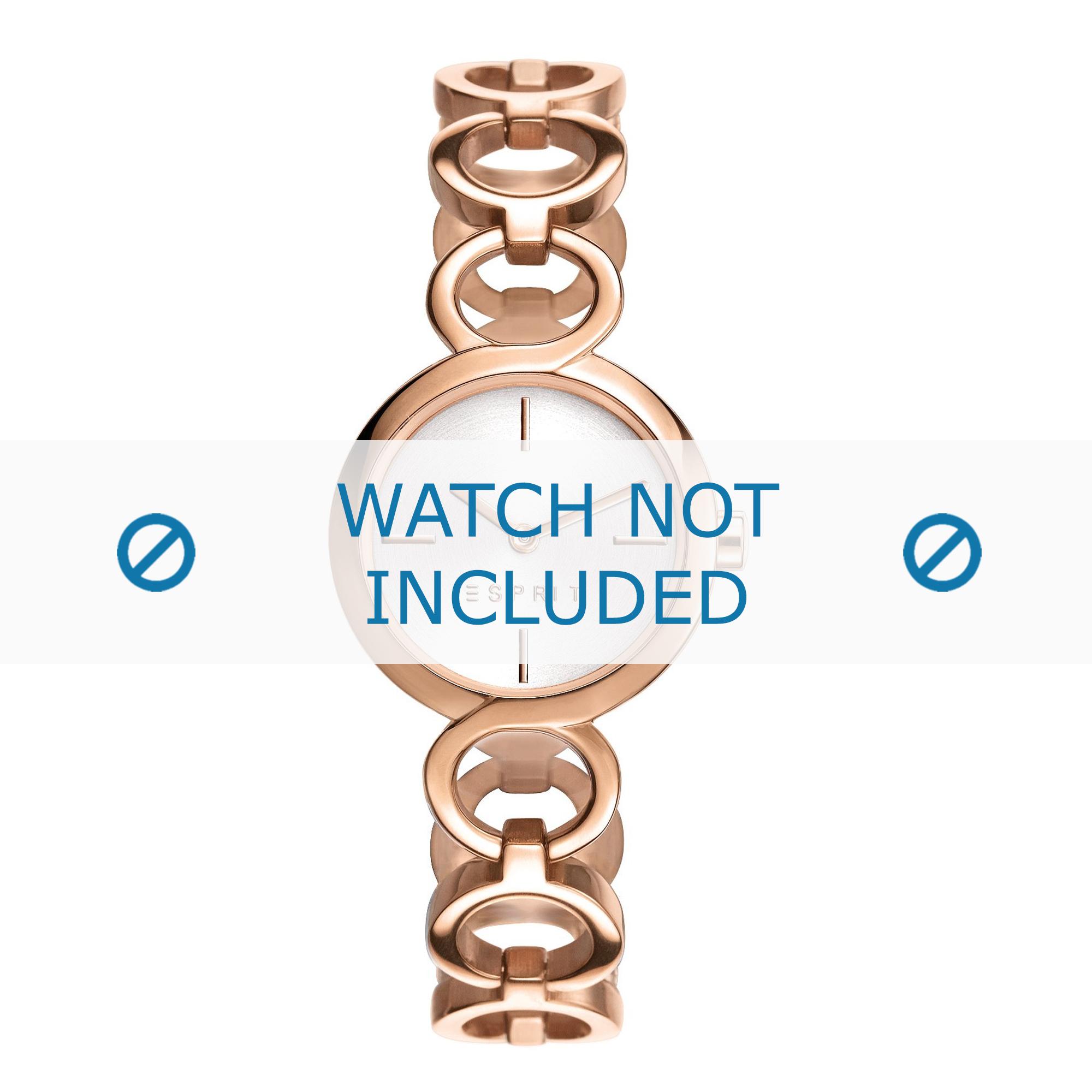 Esprit horlogeband ES108212-003 Staal Rosé