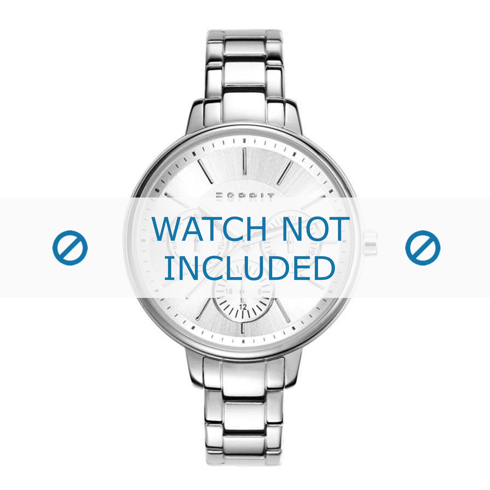 Esprit horlogeband ES108152-001 Staal Zilver