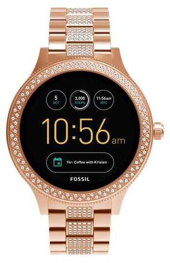 Fossil FTW6008 Q EXPLORIST SMARTWATCH 44MM Digitaal Dames Digital Smartwatch