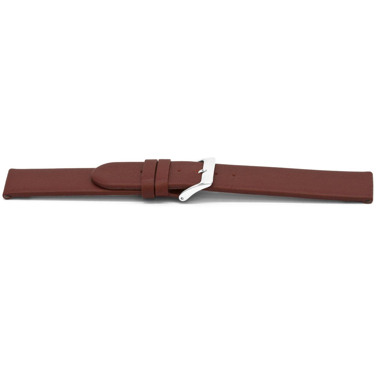 Horlogeband G706 leder rood 20mm